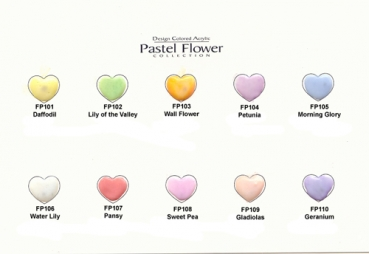 EZ Flow Color Powder Pastel Flower Serie, 14 g