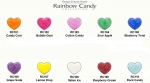 EZ Flow Color Powder Rainbow Candy Serie, 14 g